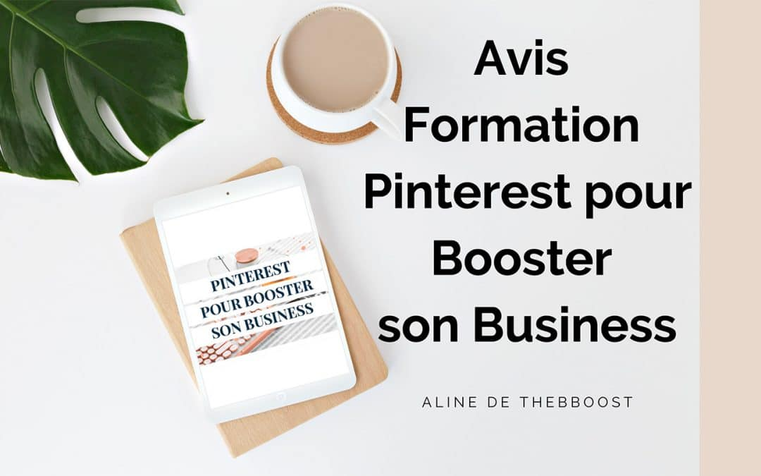 avis formation pinterest pour booster son business