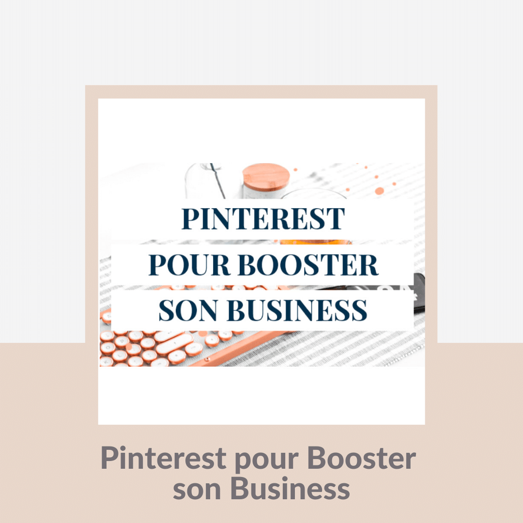 formation pinterest pour booster son business